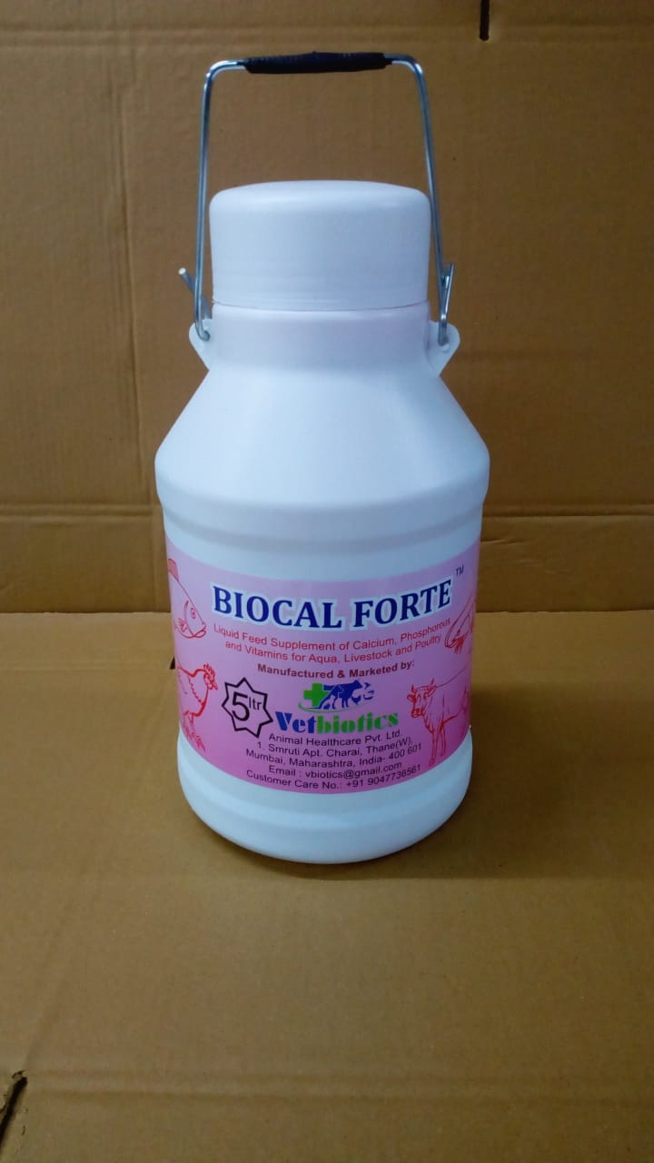 Vetbiotics launched Biocal Forte for safe transport of live fish during Covid 19 period