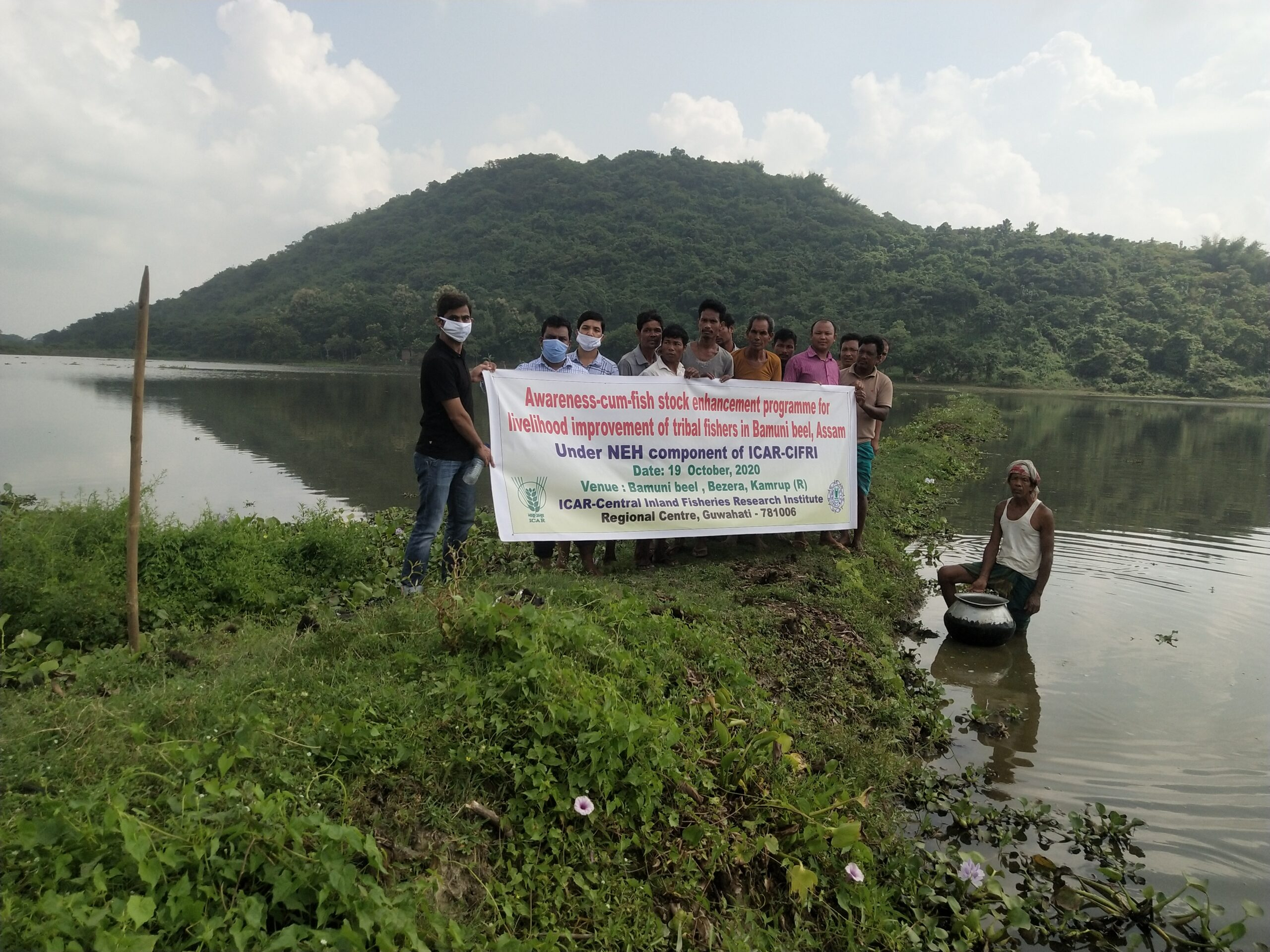 Fish stock enhancement programme for livelihood improvement of tribal fishers in Bamuni beel, Assam