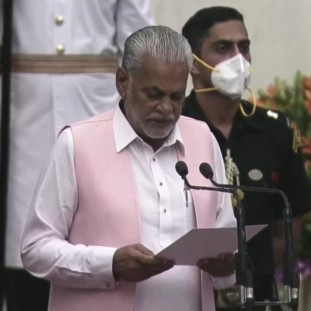 Rupala appointed as new  minister of Fisheries, Animal Husbandry and Dairying